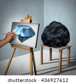 seeing the possibilities or... | Shutterstock . vector #436927612