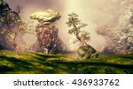 3d illustration of landscape... | Shutterstock . vector #436933762
