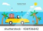 summer illustration   Shutterstock .eps vector #436936642