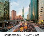View Of A Busy Street Corner At ...