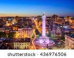 baltimore  maryland  usa... | Shutterstock . vector #436976506