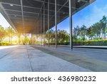 exterior of modern building | Shutterstock . vector #436980232