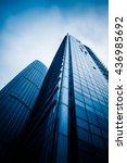 modern glass building | Shutterstock . vector #436985692
