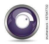 volume control icon. internet... | Shutterstock . vector #437047732