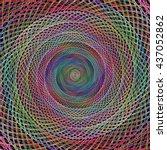 Multicolored Hypnotic Spiral...