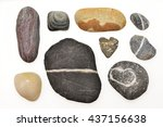 Various Pebbles Include The...