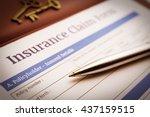 vintage   retro color style  ... | Shutterstock . vector #437159515
