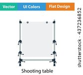 icon of table for object...