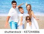 beach.   Shutterstock . vector #437244886