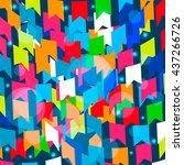 festa junina brazil festival.... | Shutterstock .eps vector #437266726
