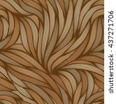 seamless abstract pattern. ... | Shutterstock .eps vector #437271706
