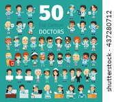 Big Set Of 50 Doctors And Othe...