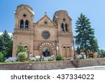 cathedral basilica of saint...   Shutterstock . vector #437334022