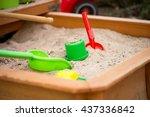 Sand Toys In A Sandbox   Sand...
