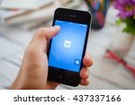 bangkok thailand   june 15 ... | Shutterstock . vector #437337166