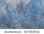 Blue Stone Background With Hig...