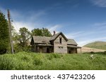 Old Farmhouse. In The Palouse...