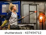 Blowing Glass Professional...
