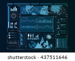 human user display | Shutterstock . vector #437511646