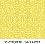 Seamless Kaleidoscope Pattern...