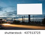Billboard Blank For Outdoor...