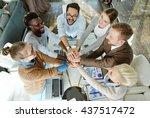 business union | Shutterstock . vector #437517472