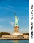 magnificence of statue of... | Shutterstock . vector #437547502