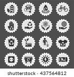 alternative energy web icons... | Shutterstock .eps vector #437564812