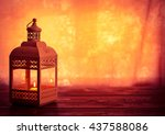 beautiful background with a... | Shutterstock . vector #437588086