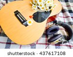 Guitar And Daisies