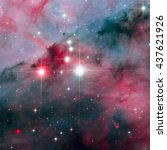 Small photo of WR 25 is a Wolf-Rayet star in the turbulent star forming region Carina Nebula. It is consist in the Trumpler 16 cluster. Retouched colored image. Elements of this image furnished by NASA.