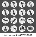 work tools web icons for user... | Shutterstock .eps vector #437652082