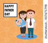father day   Shutterstock .eps vector #437671798