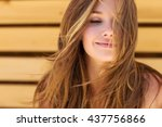 beautiful woman | Shutterstock . vector #437756866