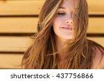 Stock photo beautiful woman 437756866