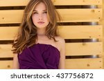 beautiful woman | Shutterstock . vector #437756872
