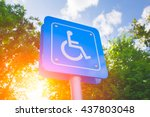 Parking For Disability Persons...