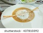 lobster soup  | Shutterstock . vector #437810392