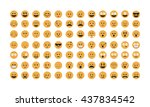 emoticon vector. emoji vector. ...
