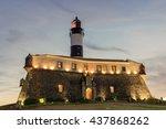 barra lighthouse  an ancient...
