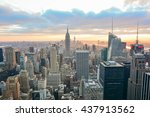 new york  united states  ... | Shutterstock . vector #437913562
