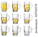 Steps Of Discharge Mug Of Beer...