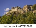stirling  scotland   august 27  ... | Shutterstock . vector #437928802