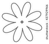 flower sign illustration
