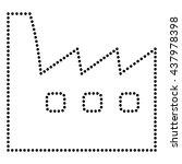 factory sign illustration | Shutterstock .eps vector #437978398