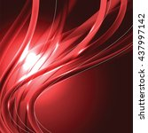 abstract shiny background. red... | Shutterstock .eps vector #437997142