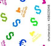 payer relations glyph seamless... | Shutterstock . vector #438025048