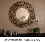 interior mirror | Shutterstock . vector #438031702