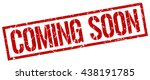 coming soon stamp.stamp.sign... | Shutterstock .eps vector #438191785