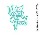 vector illustration  food... | Shutterstock .eps vector #438213736
